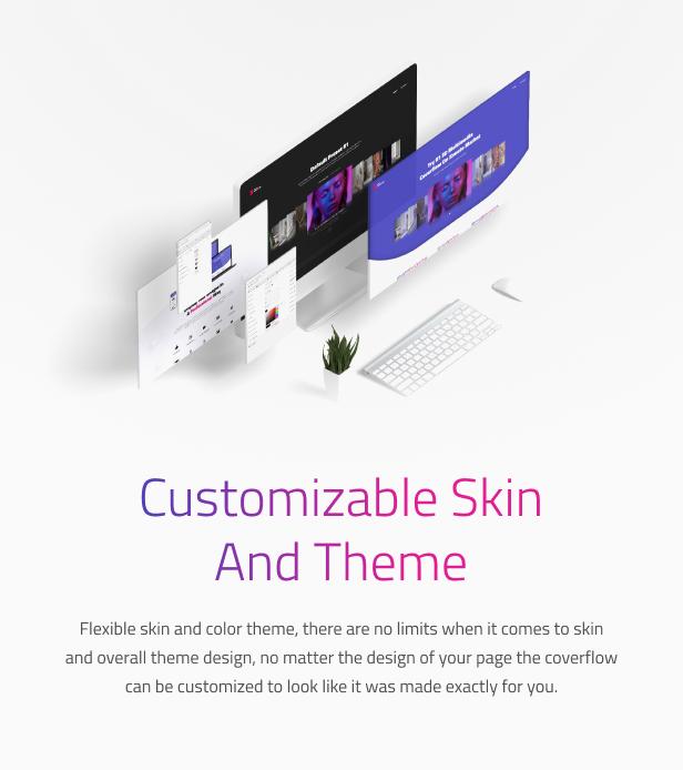 Simple 3D Coverflow WordPress Plugin - 12