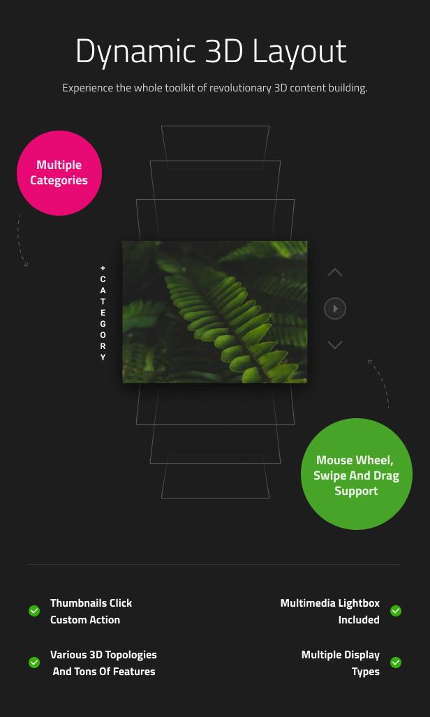 Vertical Simple 3D Coverflow - 8
